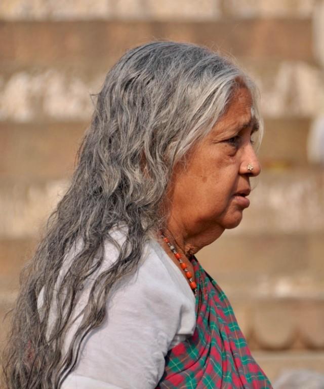 После омовения...Гхаты Варанаси.