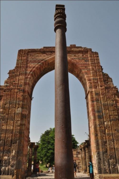Дели. Железная колонна