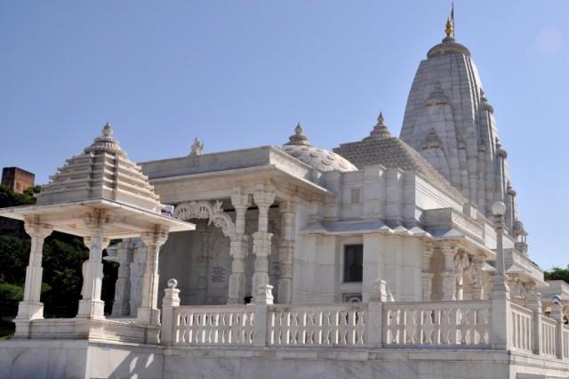 Джайпур. Бирла Мандир.