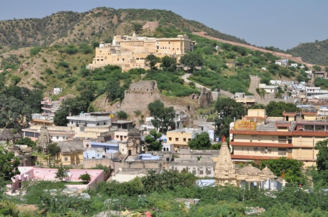 Джайпур. Вид с Форта Амбер