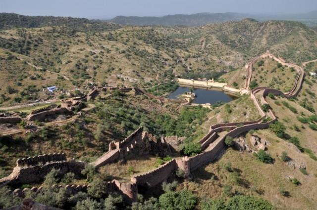 Джайпур. Вид с Форта Джайгарх.