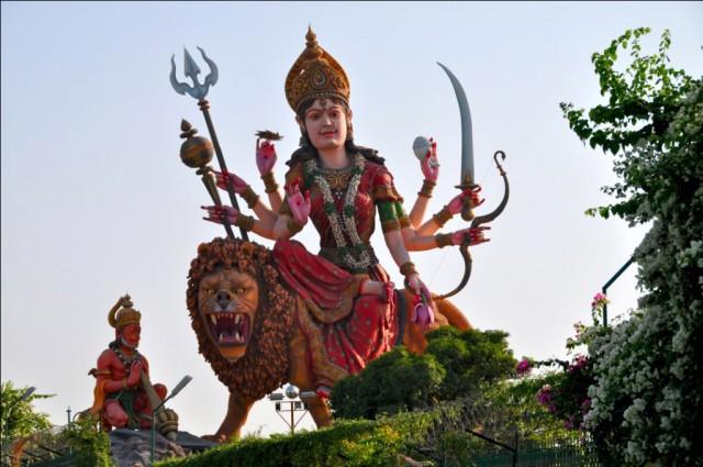 Вриндаван. Богиня Дурга