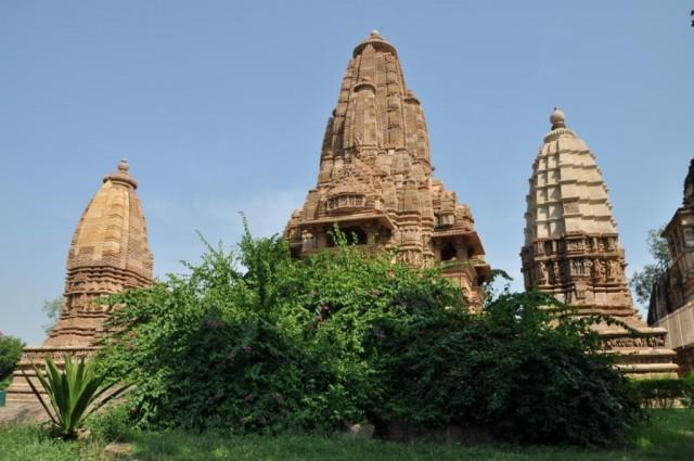 Храмы Кхаджурахо.