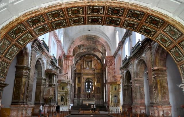 Старый Гоа. Церковь Св.Франциска Ассизского