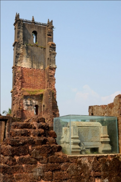 Старый Гоа. Руины церкви Св.Августина