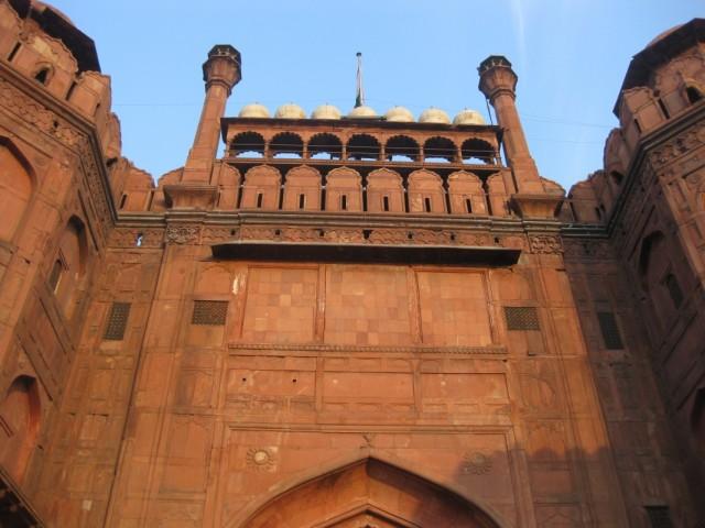 Главные ворота Ред-форта