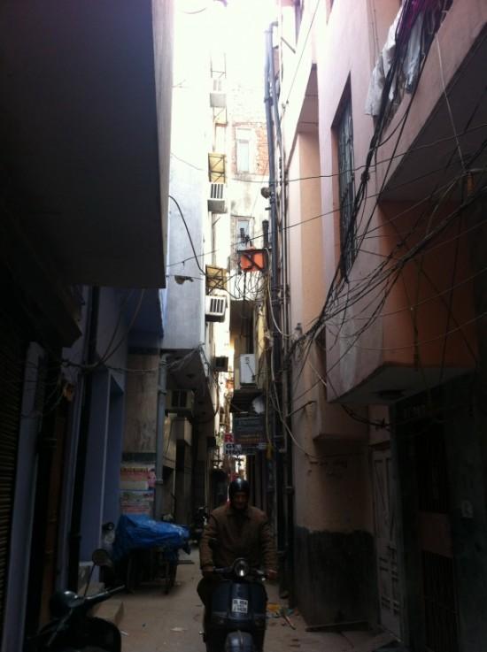 Улочка рядом с Мэйн-базаром