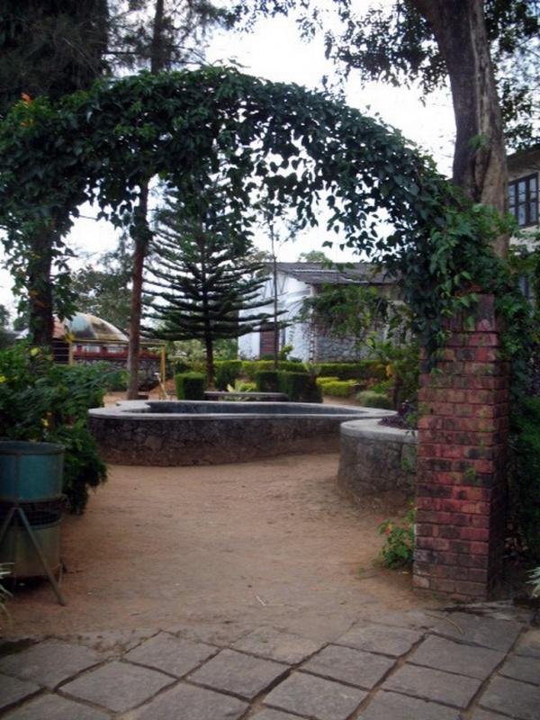 Дворик при музее Ваянада