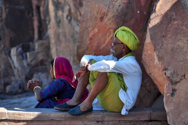 В тени форта. Джодхпур
