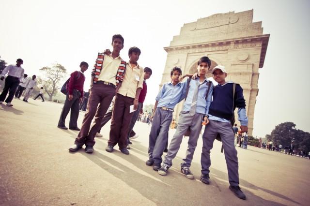 Возле Ворот Индии