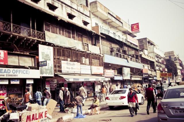 По улицам старого Дели