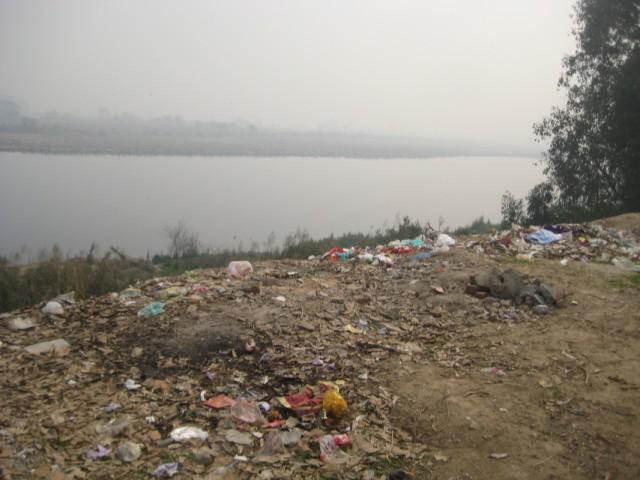 берег Ямуны в Дели