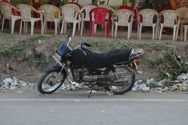 Мотоцикл с приступочкой