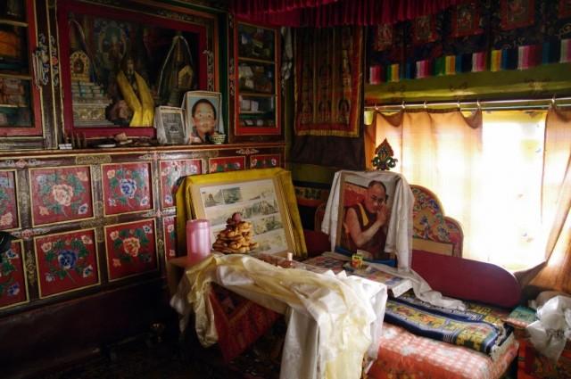 комната Далай-Ламы