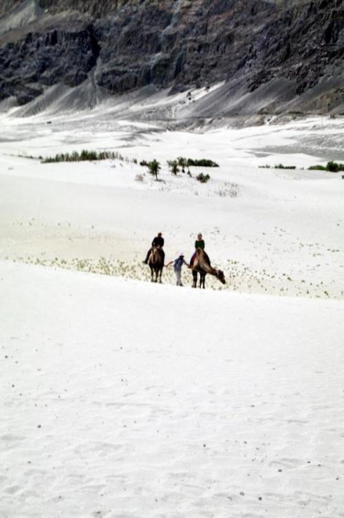 Пески около Хундара