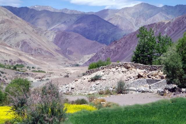 Горы Рериха по дороге в Манали