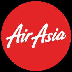 Логотип авиакомпании AirAsia