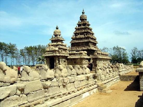 Храм в Мамаллапурам