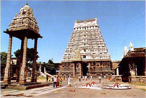 Южная Индия. Канчипурам