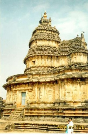 Храм Шри Видьяшанкара в Шрингери