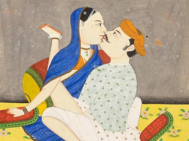 Иллюстрация из Камасутры