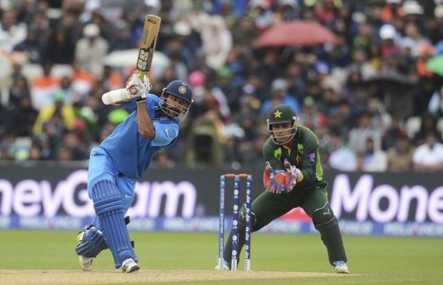 Индия и Пакистан сражаются в крикет