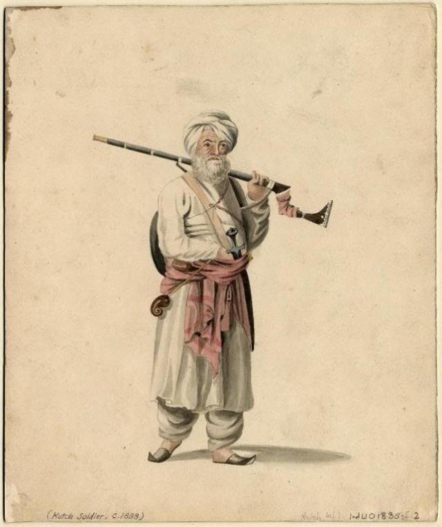 Воин-маратха