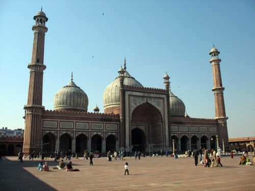 Мечеть Джама Масджид в Старом Дели