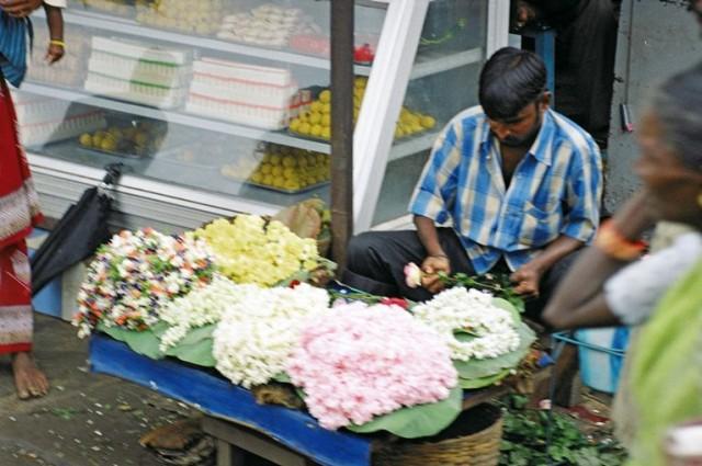 на улицах Канчипурама