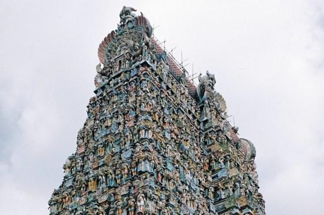 Верхняя часть южной башни