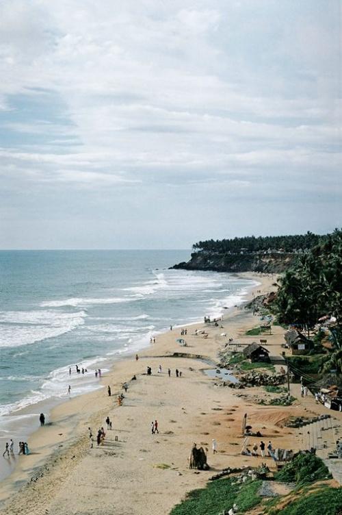 Снова общий вид пляжа