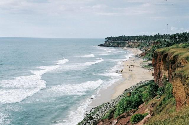 Вид с южной оконечности клифа