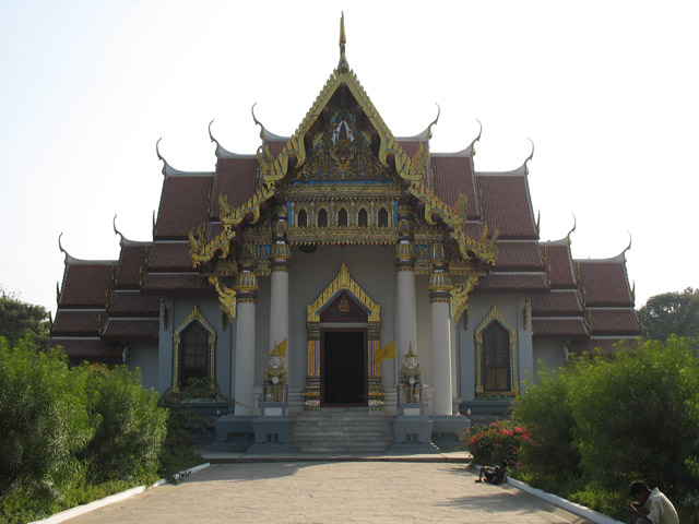 Бодх Гайя: Тайский храм Будды