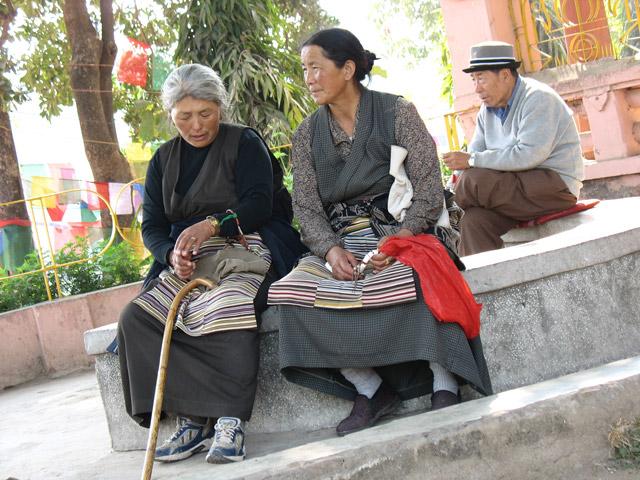 Паломники из Тибета
