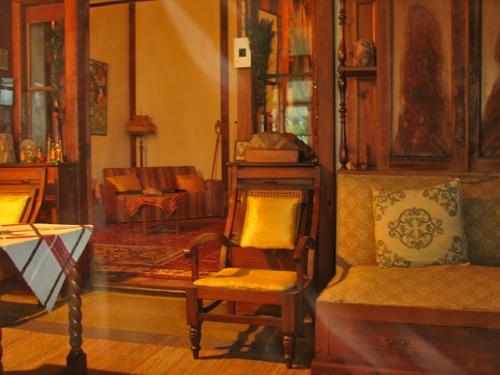 Дом Рерихов в Наггаре. Интерьер