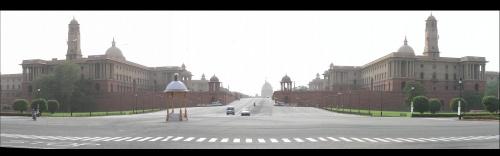 Дели, президентский дворец