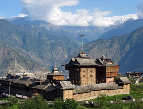 Храм Бхимакали днем