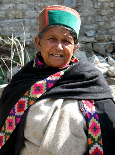 Женщина из Санглы