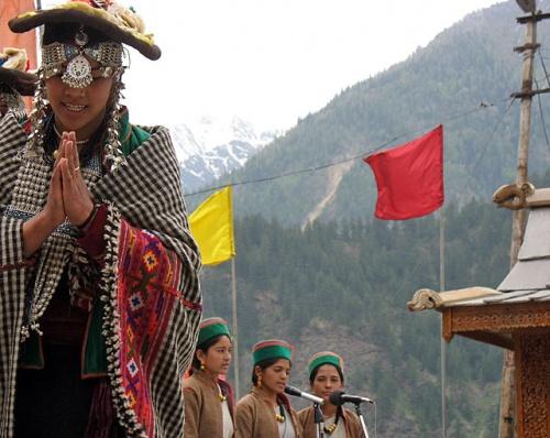 Фестиваль танца. Сангла