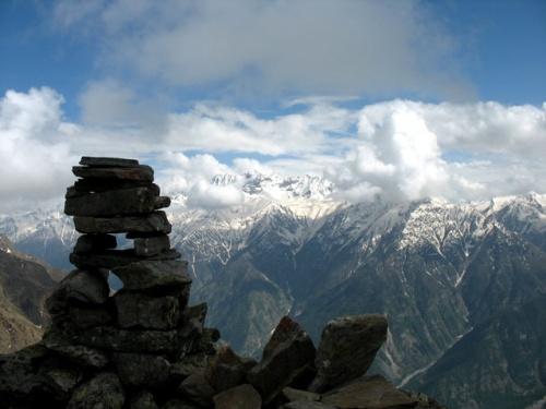 В горах над Санглой