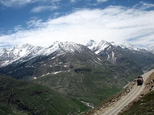 Дорога на перевал Рохтанг