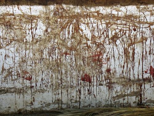 """Почти Поллок. Кровавая """"живопись"""" на стене храма Хадимбы"""