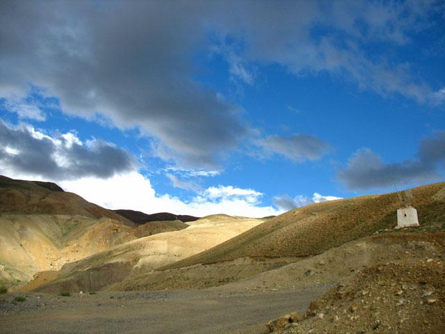 Гималаи в окрестностях Киббера
