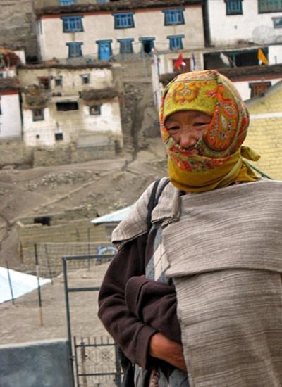 женщина из Киббера