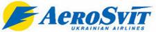 """Логотип авиакомпании """"Аэросвит"""""""