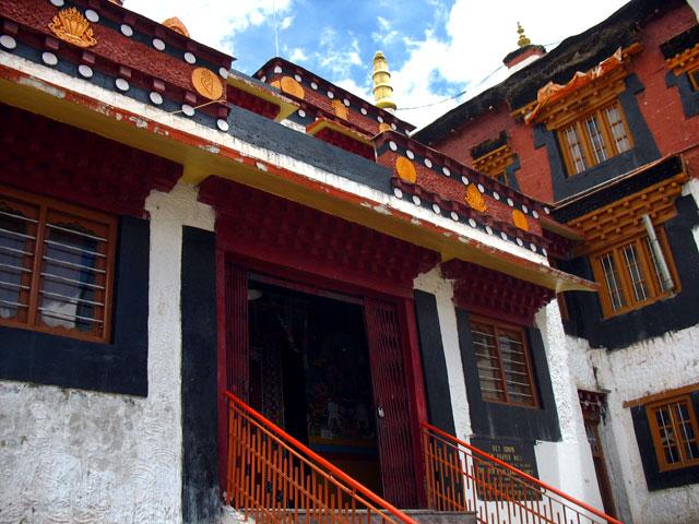 Храм монастыря Ки