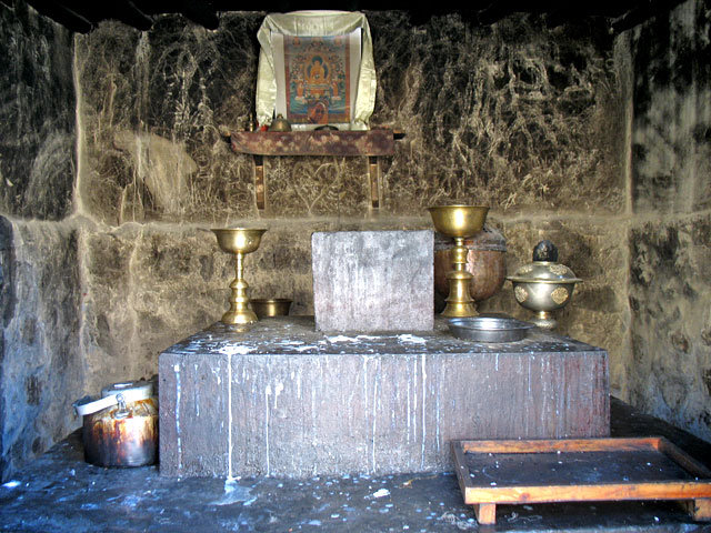 Алтарь. Монастырь Табо