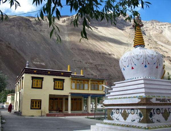 Ступа в монастыре Табо