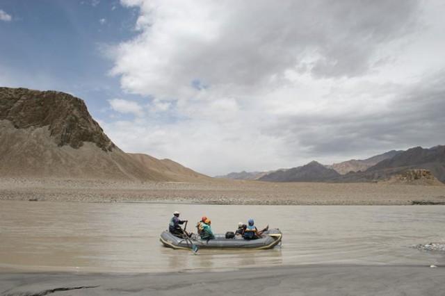 Рафтинг по реке Инд