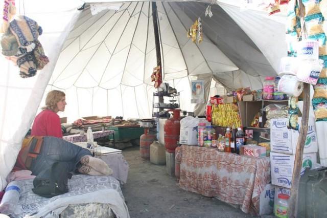 Лавка на пути из Манали в Ладакх